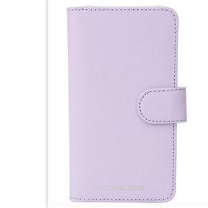 Leather Michael Kors FashionFolio Phone Case X 577